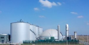 Image of Digester facility for biogas generation located in Dinteloord